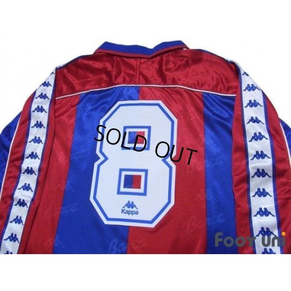 Photo4: FC Barcelona 1993-1995 Home Long Sleeve Shirt #8