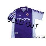 Fiorentina 1999-2000 Home Shirt #10 Rui Costa Lega Calcio Patch/Badge
