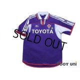 Fiorentina 2001-2002 Home Shirt #8 Mijatovic Lega Calcio Patch/Badge
