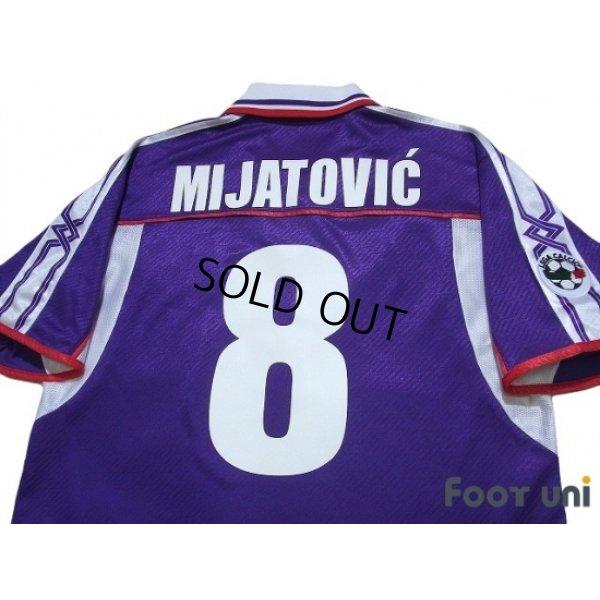 Photo4: Fiorentina 2001-2002 Home Shirt #8 Mijatovic Lega Calcio Patch/Badge