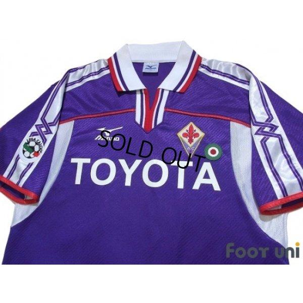 Photo3: Fiorentina 2001-2002 Home Shirt #8 Mijatovic Lega Calcio Patch/Badge