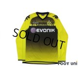 Borussia Dortmund 2011-2012 Home Long Sleeve Shirt #23 Kagawa
