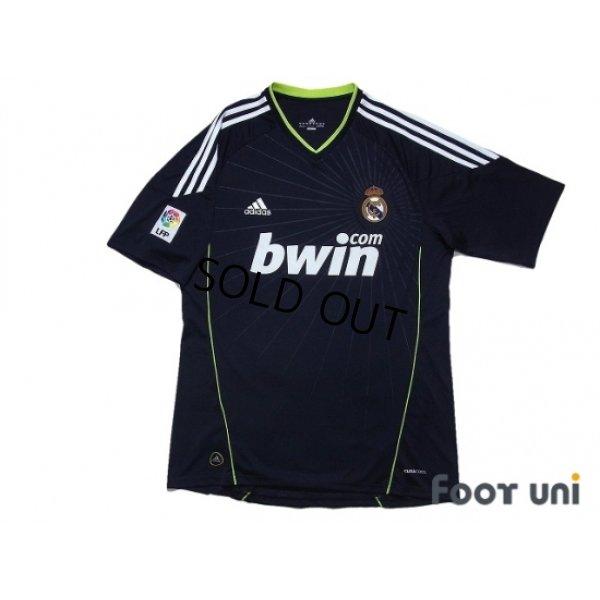 Photo1: Real Madrid 2010-2011 Away Shirt #22 Di Maria LFP Patch/Badge