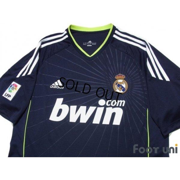 Photo3: Real Madrid 2010-2011 Away Shirt #22 Di Maria LFP Patch/Badge
