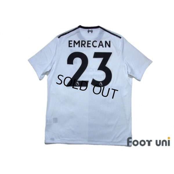 Photo2: Liverpool 2017-2018 Away Shirt #23 Emre Can
