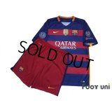 FC Barcelona 2015-2016 Home Shirts and shorts Set #10 Messi  w/tags
