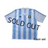 Argentina 1991-1992 Home Shirt #10