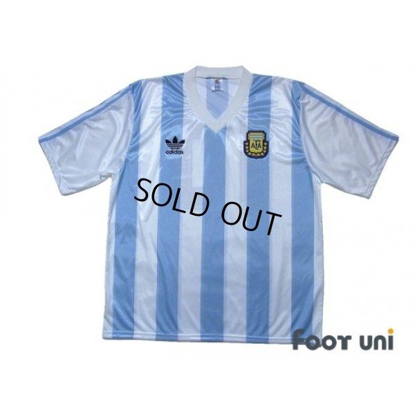 Photo1: Argentina 1991-1992 Home Shirt #10