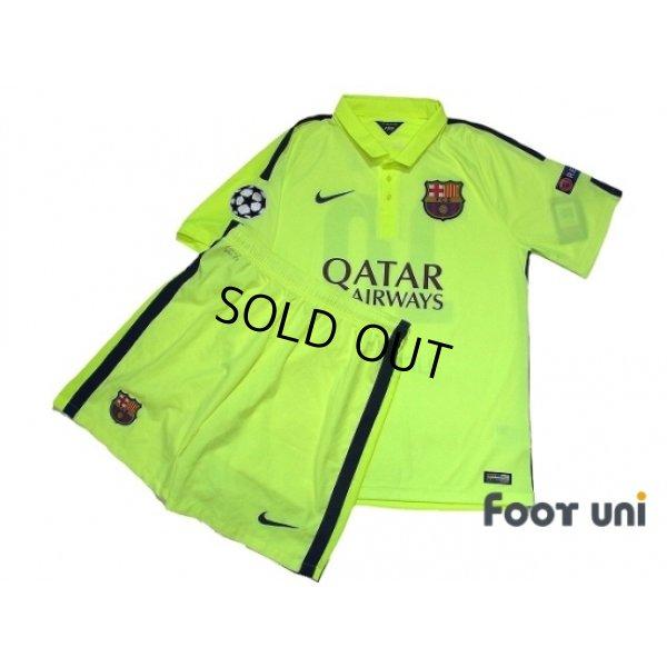 Photo1: FC Barcelona 2014-2015 3rd Shirts and shorts Set #10 Messi w/tags
