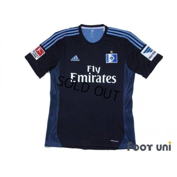 Photo1: Hamburger SV 2013-2014 Away Authentic Shirt #9 Calhanoglu w/tags