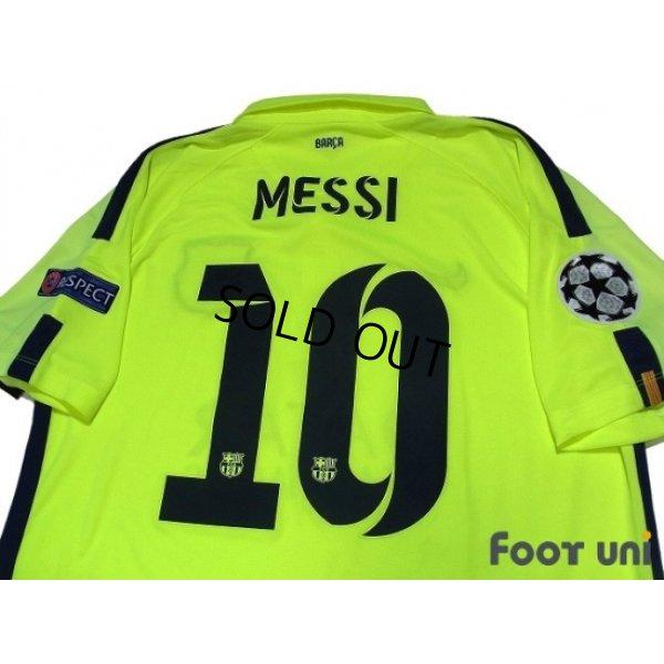 Photo5: FC Barcelona 2014-2015 3rd Shirts and shorts Set #10 Messi w/tags