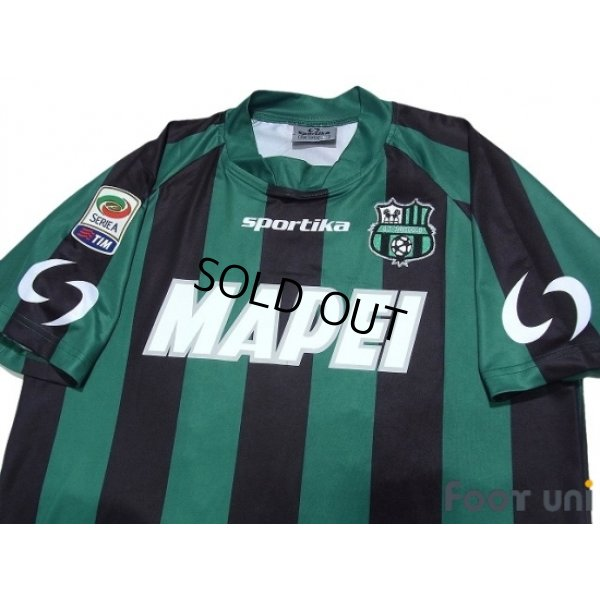 Photo4: Sassuolo 2014-2015 Home Shirt #25 Berardi Serie A Tim Patch/Badge w/tags