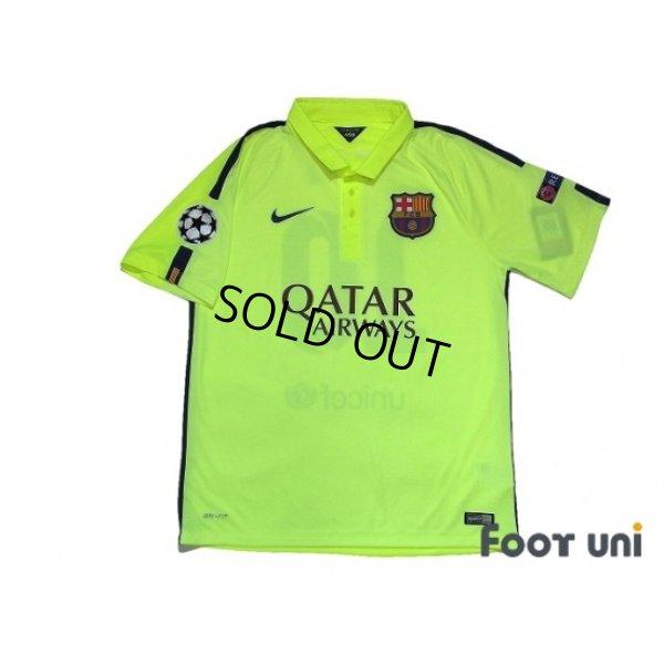 Photo2: FC Barcelona 2014-2015 3rd Shirts and shorts Set #10 Messi w/tags