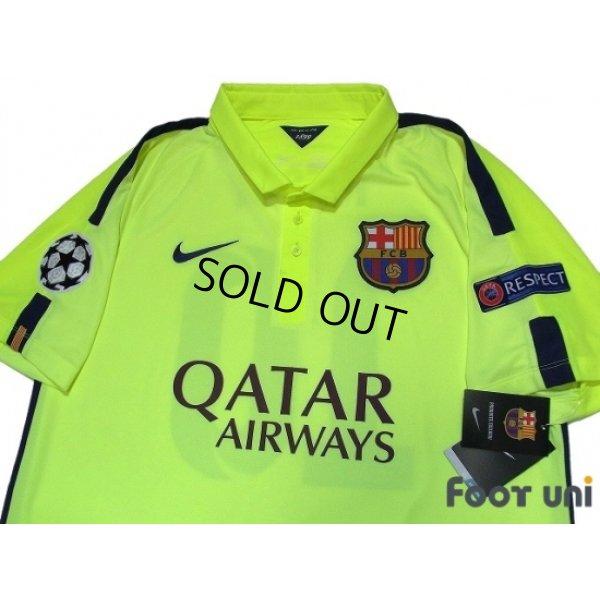 Photo4: FC Barcelona 2014-2015 3rd Shirts and shorts Set #10 Messi w/tags