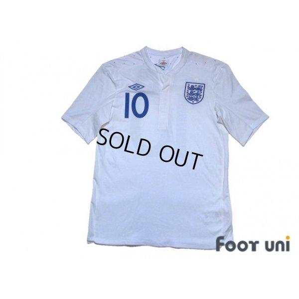 Photo1: England 2011 Home Shirt #10 Rooney w/tags