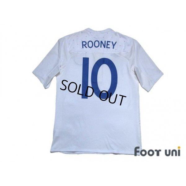 Photo2: England 2011 Home Shirt #10 Rooney w/tags