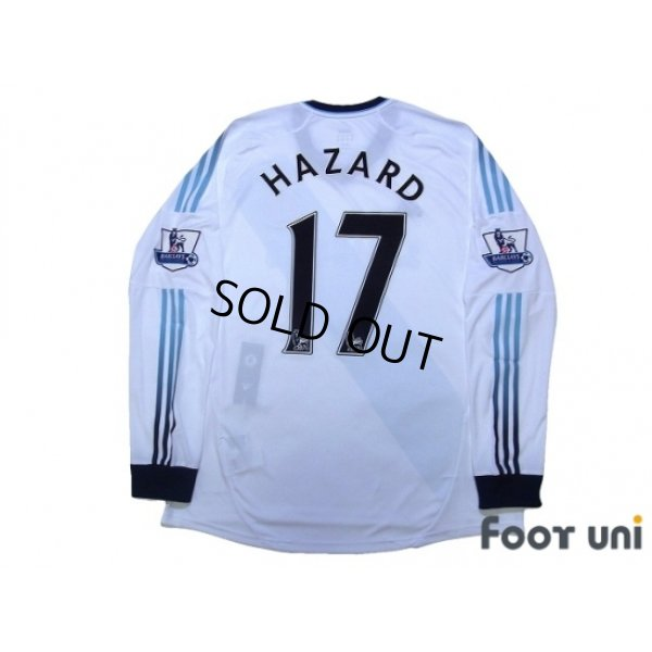 Photo2: Chelsea 2012-2013 Away Long Sleeve Shirt #17 Hazard BARCLAYS PREMIER LEAGUE Patch/Badge w/tags