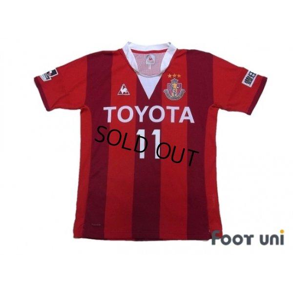 Photo1: Nagoya Grampus 2015 Home Authentic Shirt #11 Nagai