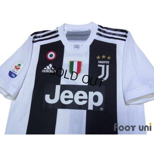 Photo3: Juventus 2018-2019 Home Authentic Shirts and shorts Set #7 Ronaldo