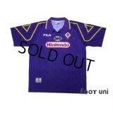 Fiorentina 1997-1998 Home Shirt #10 Rui Costa