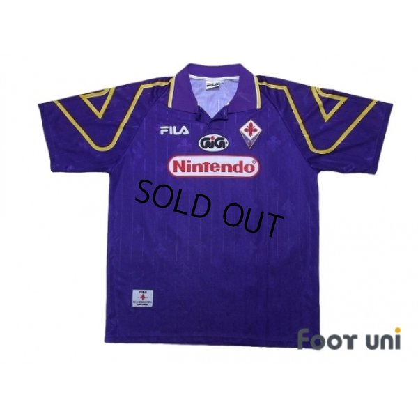Photo1: Fiorentina 1997-1998 Home Shirt #10 Rui Costa