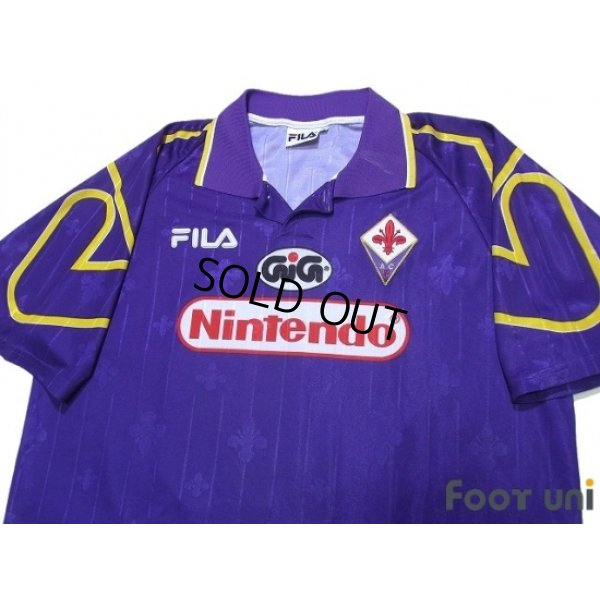 Photo3: Fiorentina 1997-1998 Home Shirt #10 Rui Costa