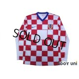 Croatia 2008 Home Authentic Long Sleeve Shirt w/tags