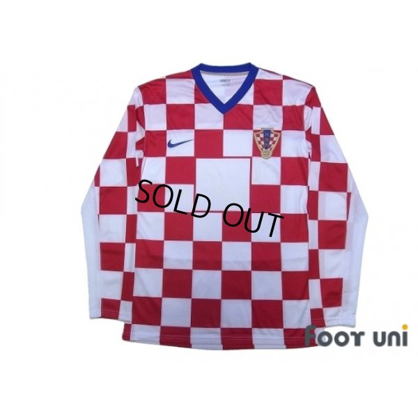 Photo1: Croatia 2008 Home Authentic Long Sleeve Shirt w/tags