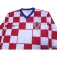 Photo3: Croatia 2008 Home Authentic Long Sleeve Shirt w/tags (3)