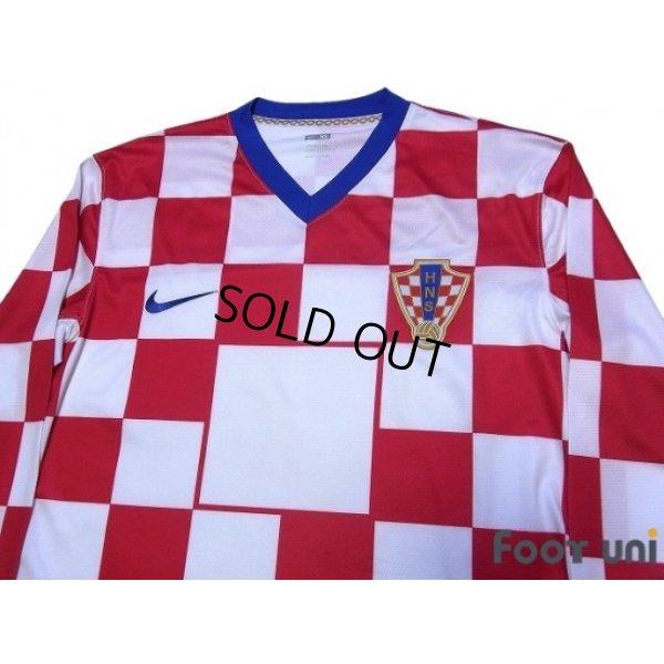 Photo3: Croatia 2008 Home Authentic Long Sleeve Shirt w/tags