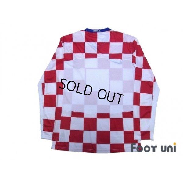 Photo2: Croatia 2008 Home Authentic Long Sleeve Shirt w/tags