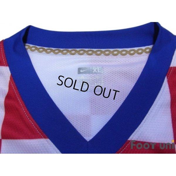 Photo4: Croatia 2008 Home Authentic Long Sleeve Shirt w/tags