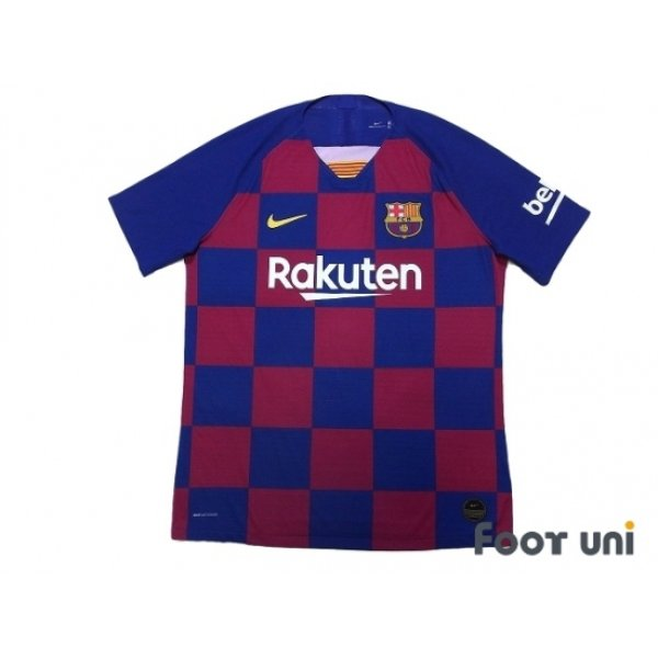 Photo1: FC Barcelona 2019-2020 Home Authentic Shirt #3 Pique