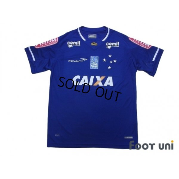 Photo1: Cruzeiro 2015 Home Shirt #10 w/tags