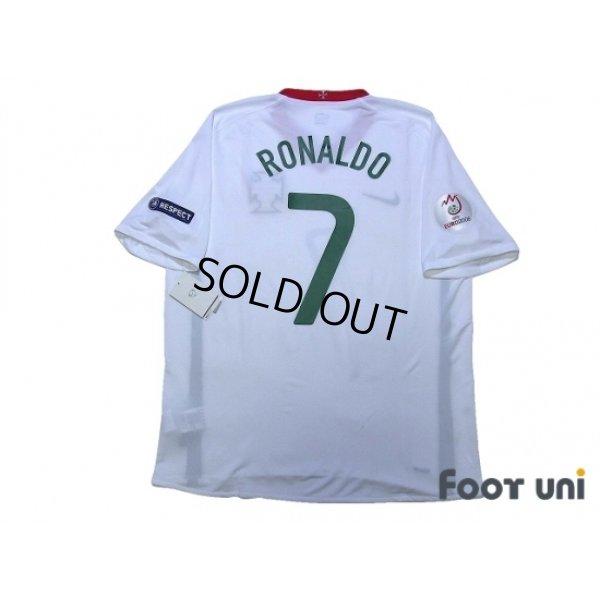 Photo2: Portugal Euro 2008 Away Shirt #7 Ronaldo UEFA Euro 2008 Patch/Badge w/tags