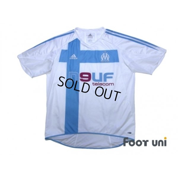 Photo1: Olympique Marseille 2004-2005 Home Authentic Shirt