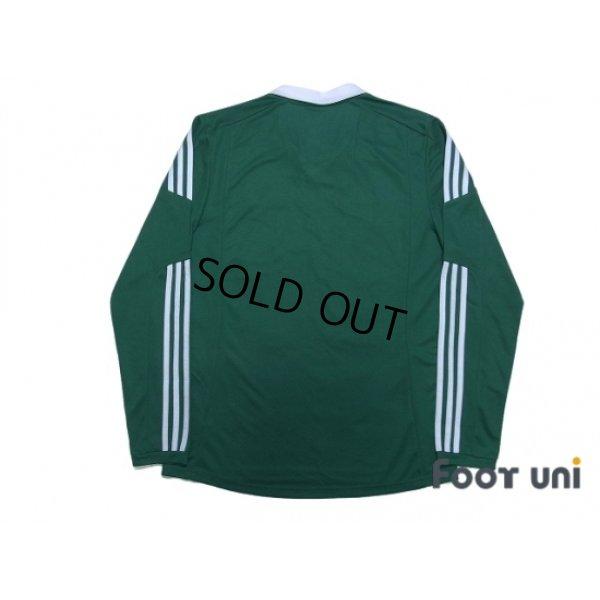 Photo2: Northern Ireland 2012-2013 Home Long Sleeve Shirt