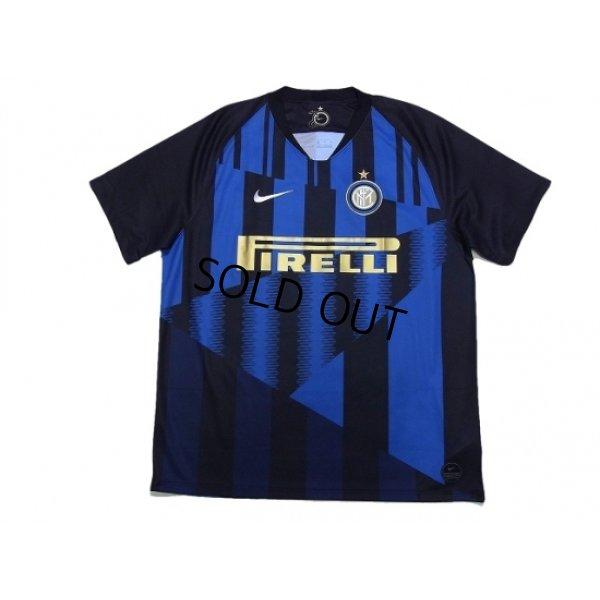 Photo1: Inter Milan 2018-2019 Home Shirt #37 Skriniar w/tags