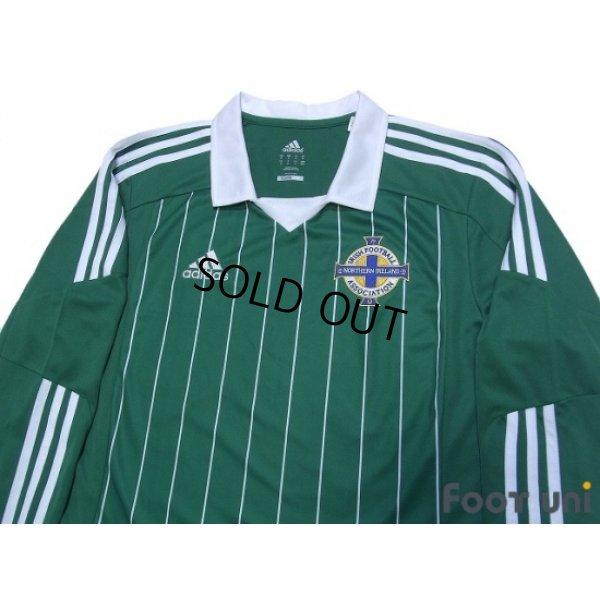 Photo3: Northern Ireland 2012-2013 Home Long Sleeve Shirt
