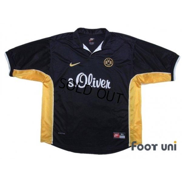 Photo1: Borussia Dortmund 1998-2000 Away Shirt #9 Chapuisat