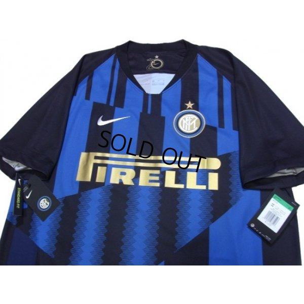 Photo3: Inter Milan 2018-2019 Home Shirt #37 Skriniar w/tags