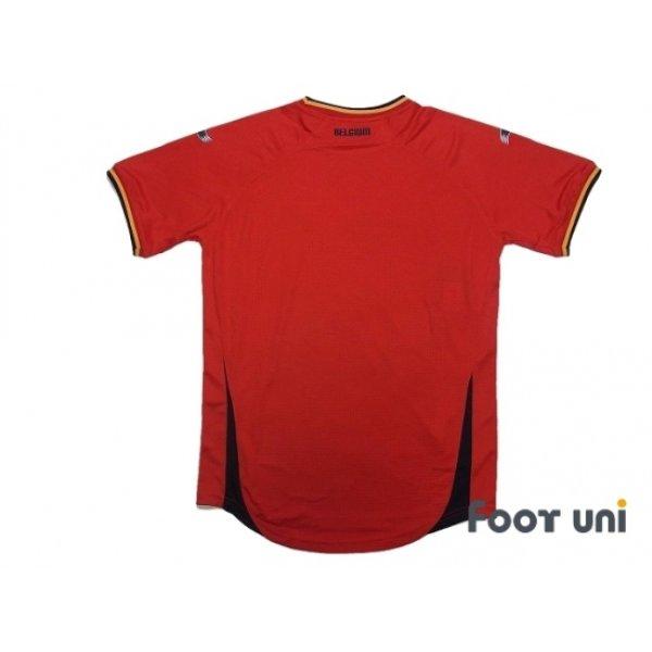 Photo2: Belgium 2014 Home Shirt w/tags