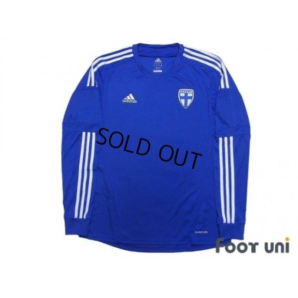 Photo1: Finland 2012-2013 Away Long Sleeve Shirt w/tags