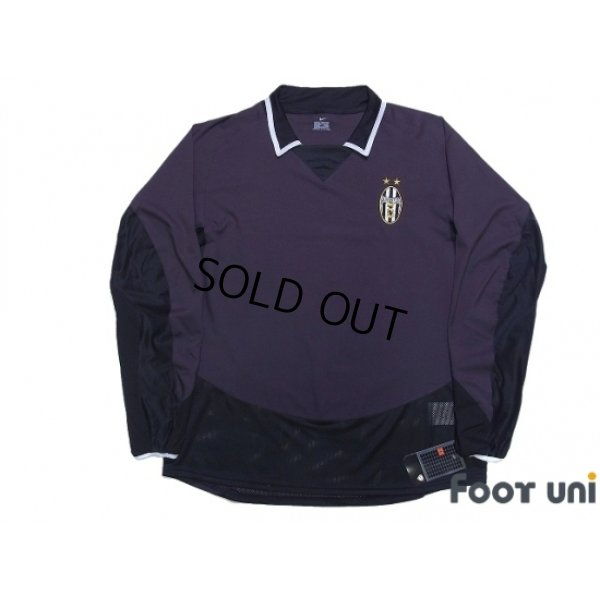 Photo1: Juventus 2003-2004 3rd Authentic Long Sleeve Shirt w/tags