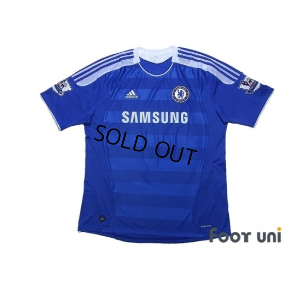 Photo1: Chelsea 2011-2012 Home Shirt #9 Torres BARCLAYS PREMIER LEAGUE Patch/Badge w/tags