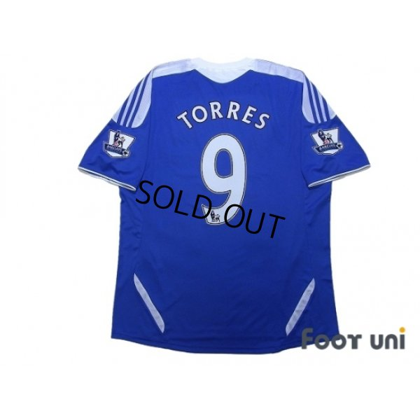 Photo2: Chelsea 2011-2012 Home Shirt #9 Torres BARCLAYS PREMIER LEAGUE Patch/Badge w/tags