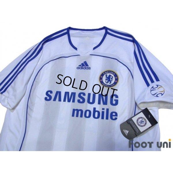 Photo3: Chelsea 2006-2007 Away Authentic Shirt #10 Joe Cole w/tags