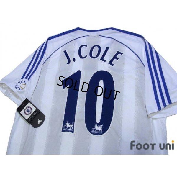 Photo4: Chelsea 2006-2007 Away Authentic Shirt #10 Joe Cole w/tags