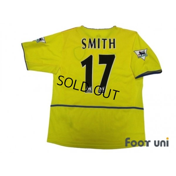 Photo2: Leeds United AFC 2002-2003 Away Shirt #17 Alan Smith The F.A. Premier League Patch/Badge w/tags