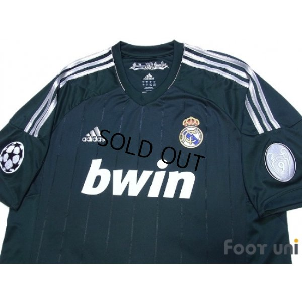 Photo3: Real Madrid 2012-2013 3rd Shirt #19 Modric Champions League Patch/Badge w/tags
